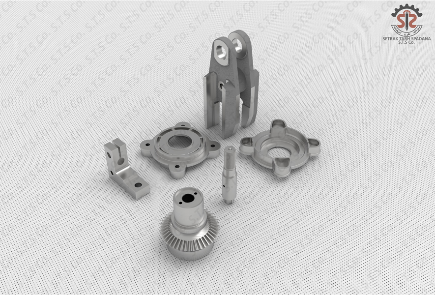GOVERNOR-SHAFT-LINK GOVERNOR-BEARING COVER-ROCKER ARM